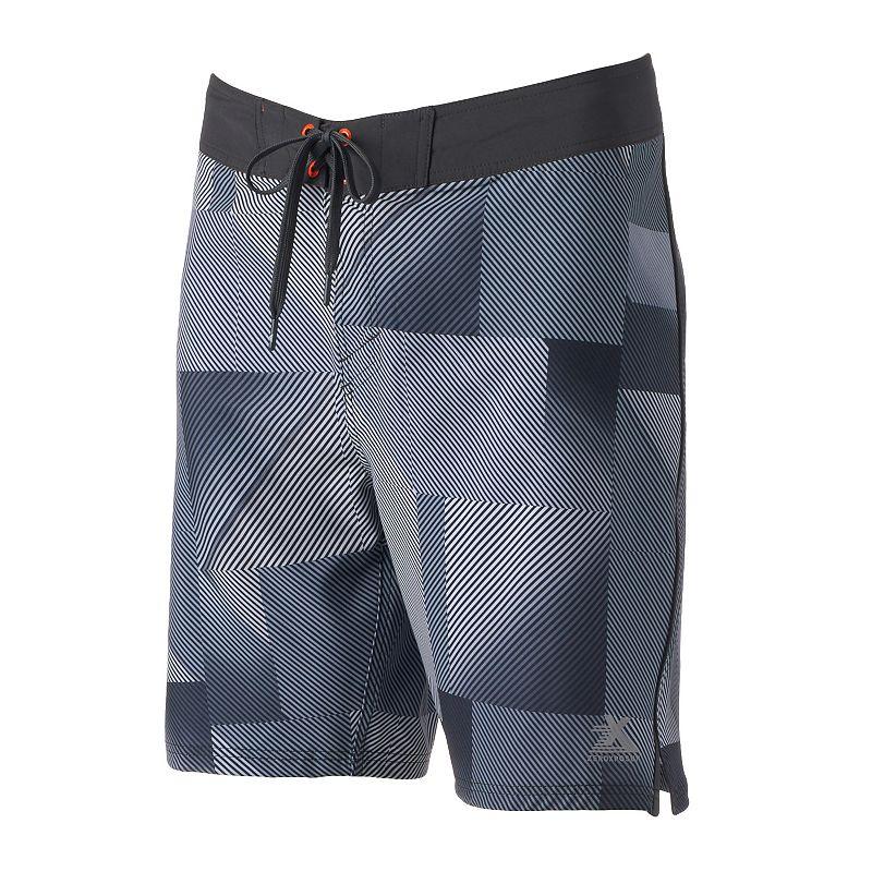 Men's ZeroXposur Wicked Faded-Striped Board Shorts