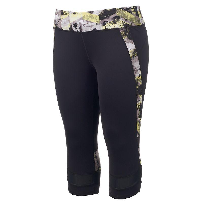 Plus Size Tek Gear® DRY TEK Capri Workout Leggings