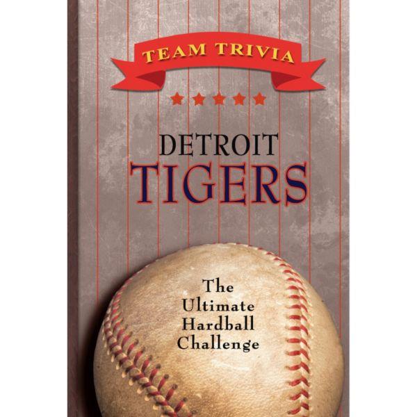 Detroit Tigers Team Trivia Book