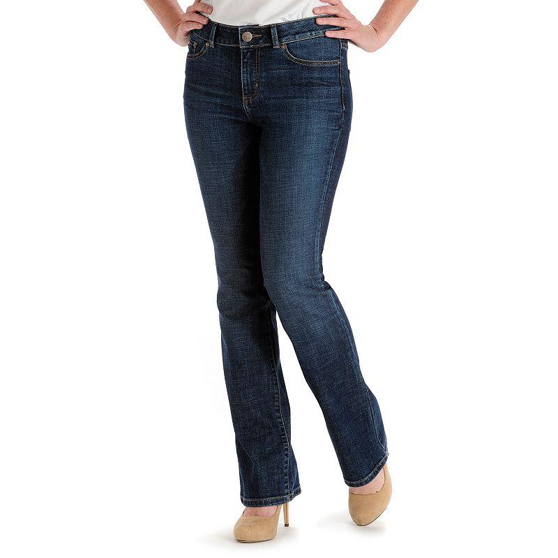 Petite Lee Alanna Modern Fit Curvy Bootcut Jeans