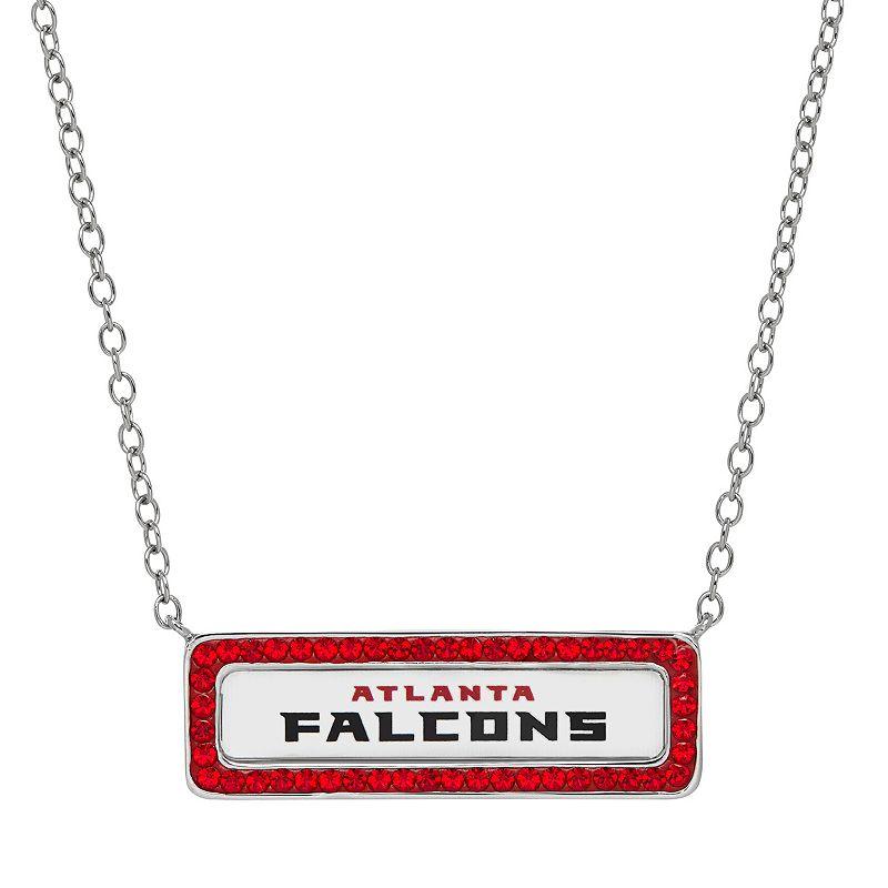 Atlanta Falcons Bar Link Necklace - Made with Swarovski Crystals