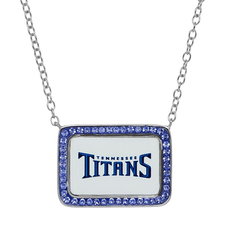 Tennessee Titans Necklace - Made with Swarovski Crystals