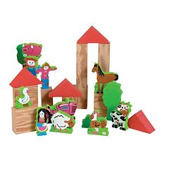 Edushape Edu-Foam Safe World Farm Set by