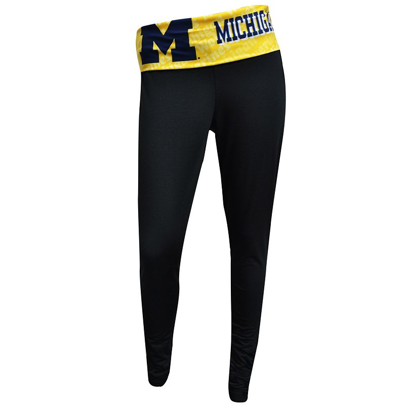 Women's Michigan Wolverines Cameo Leggings