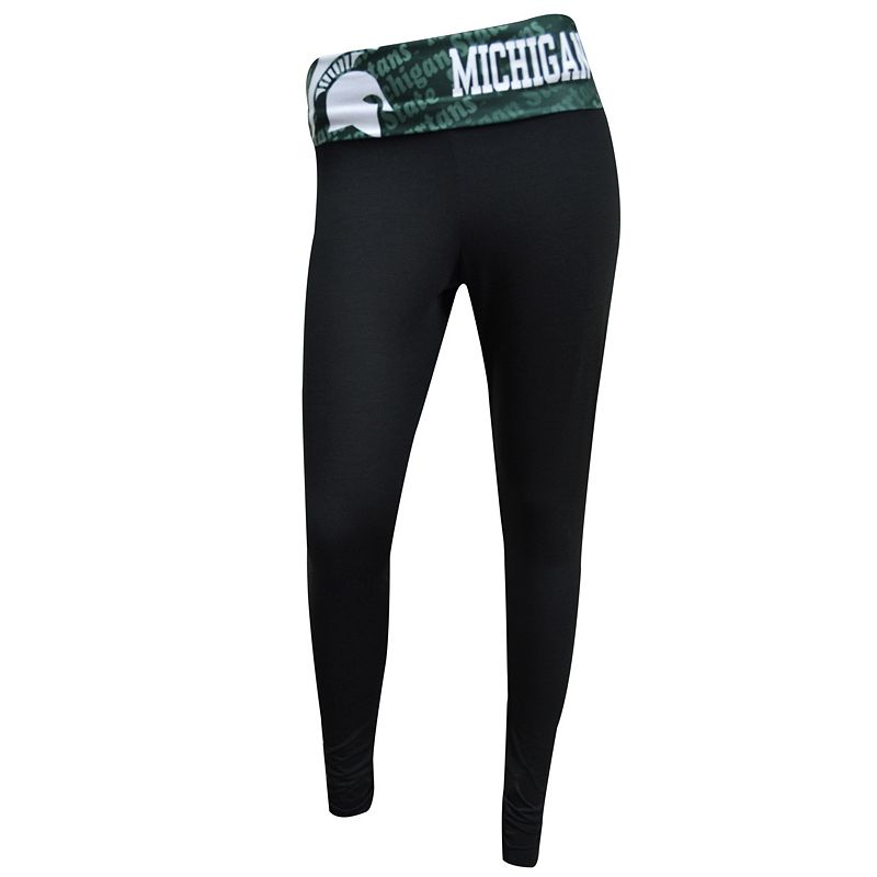 Women's Michigan State Spartans Cameo Leggings