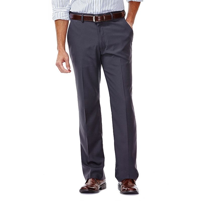 Men's Haggar Straight-Fit Gabardine Dress Pants