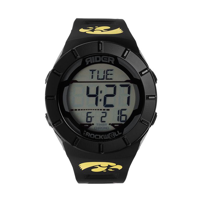 Rockwell Iowa Hawkeyes Coliseum Chronograph Watch - Men