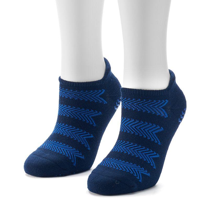 Women's adidas 2-pk. Studio climalite No-Show Socks
