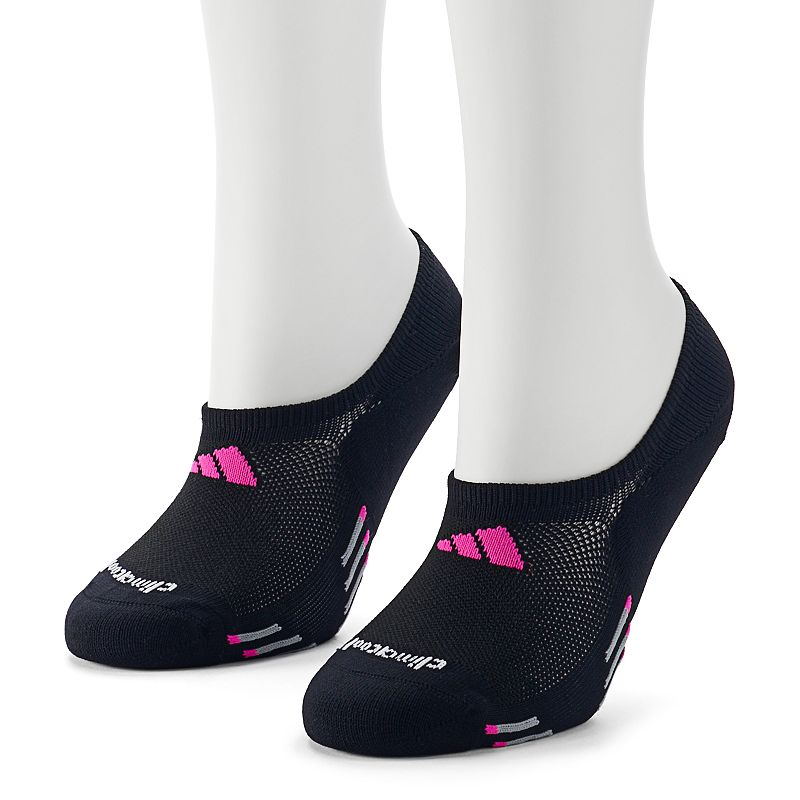 adidas 2-pk. Perforated climacool No-Show Socks - Women