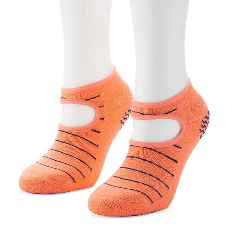 Women's adidas 2-pk. Studio Striped climalite No-Show Socks