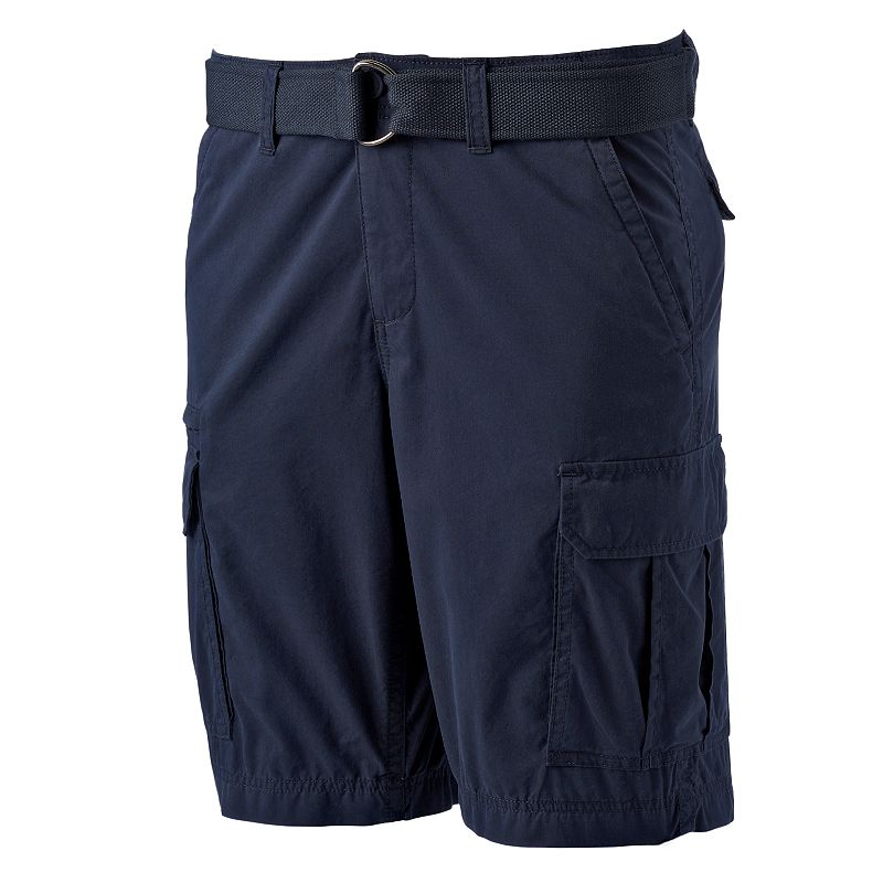 Big & Tall Men's SONOMA Goods for Life™ Belted Cargo Shorts