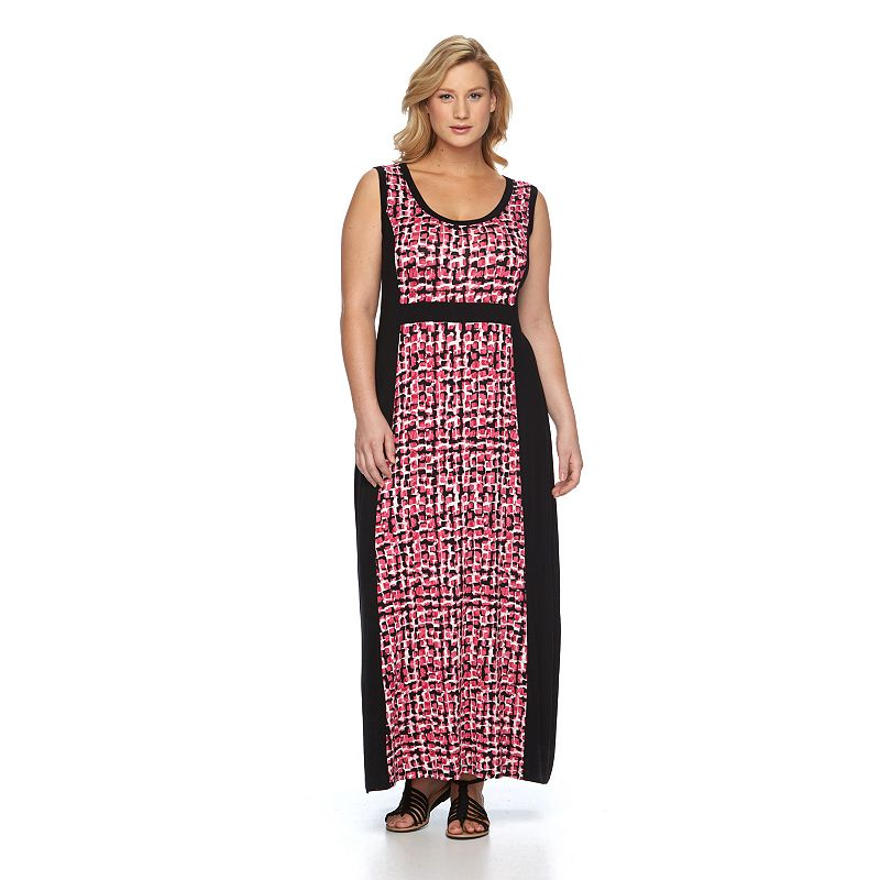 Plus Size Apt. 9® Panel Maxi Dress