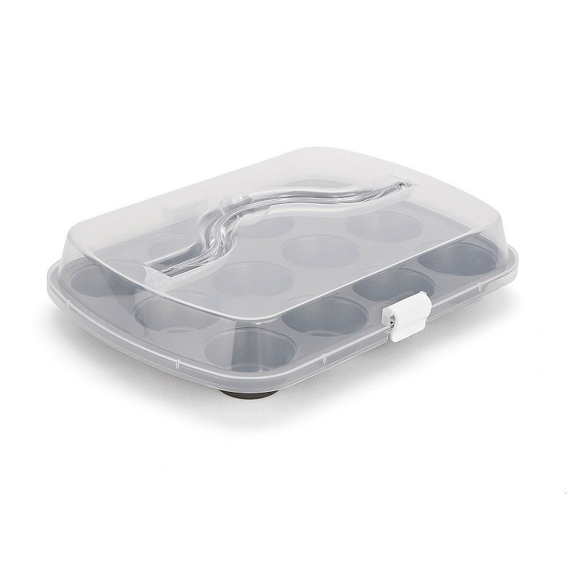 T-Fal 12-Cup Covered Muffin Pan