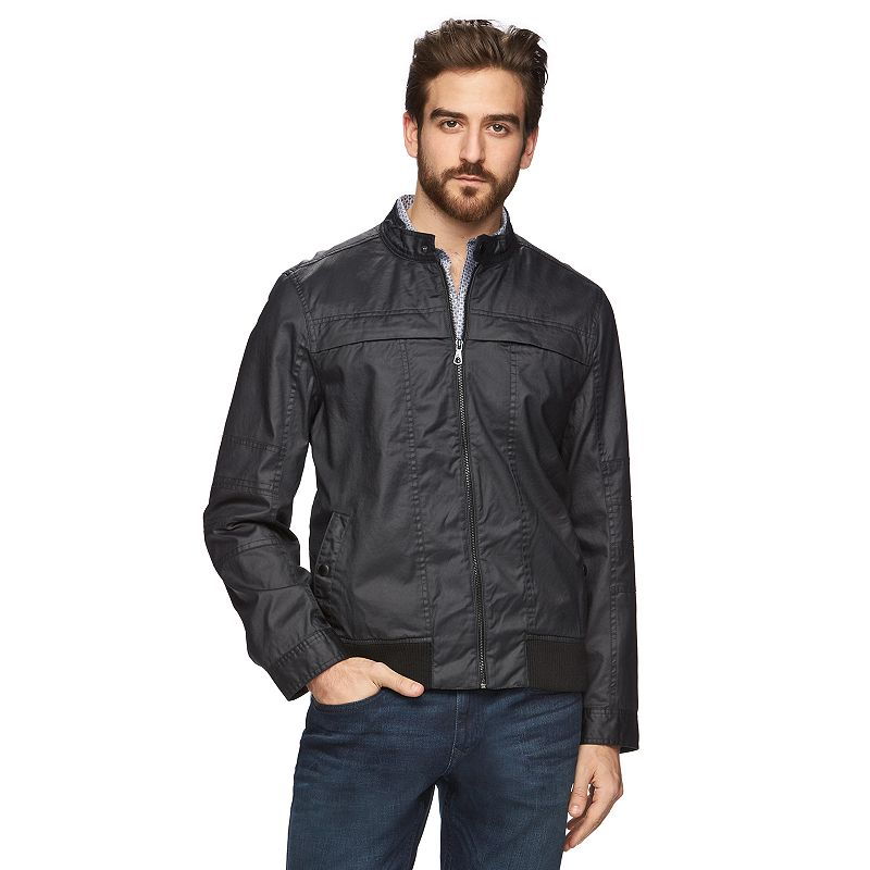 Men's Marc Anthony Slim-Fit Coated Bomber Jacket
