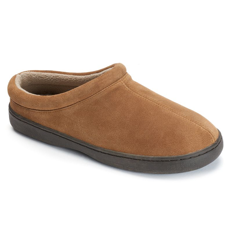 Hideaways by L.B. Evans Malcom Suede Men's Clog Slippers