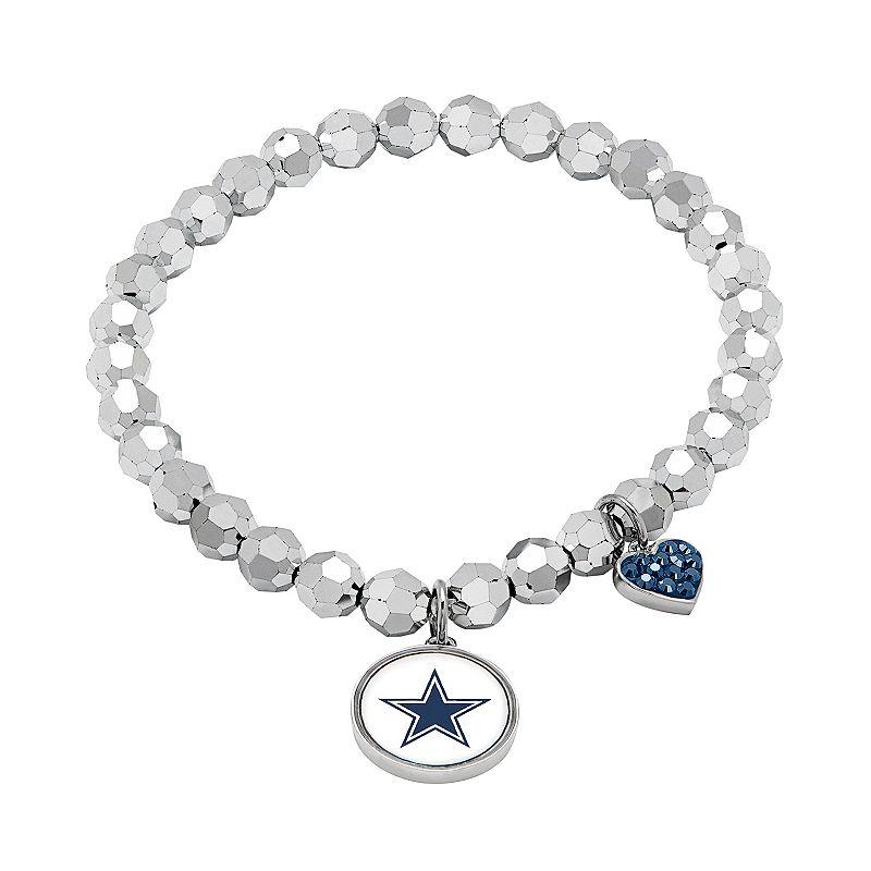 Dallas Cowboys Bead Stretch Bracelet