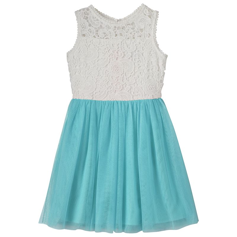 Girls 7-16 My Michelle Crochet Dress