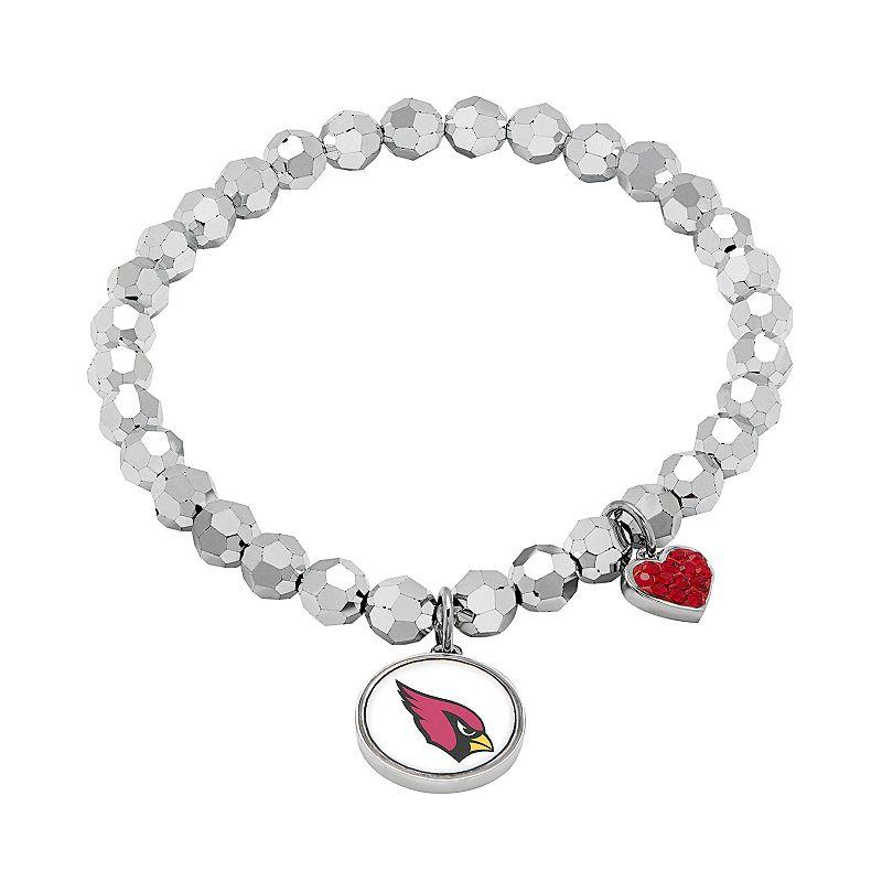 Arizona Cardinals Bead Stretch Bracelet