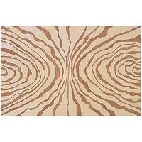 Surya Studio Rowe Zebra Wool Rug