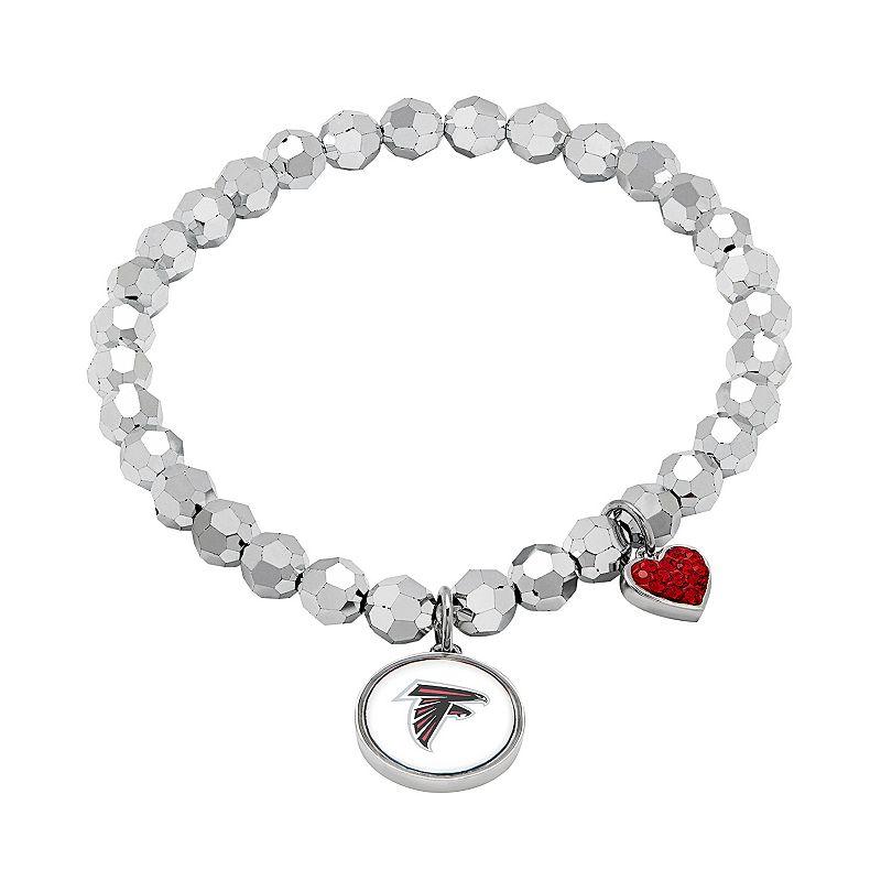 Atlanta Falcons Bead Stretch Bracelet