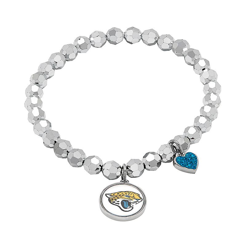 Jacksonville Jaguars Bead Stretch Bracelet