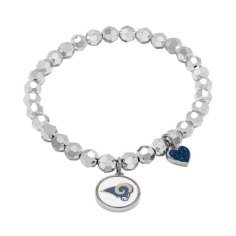 St. Louis Rams Bead Stretch Bracelet