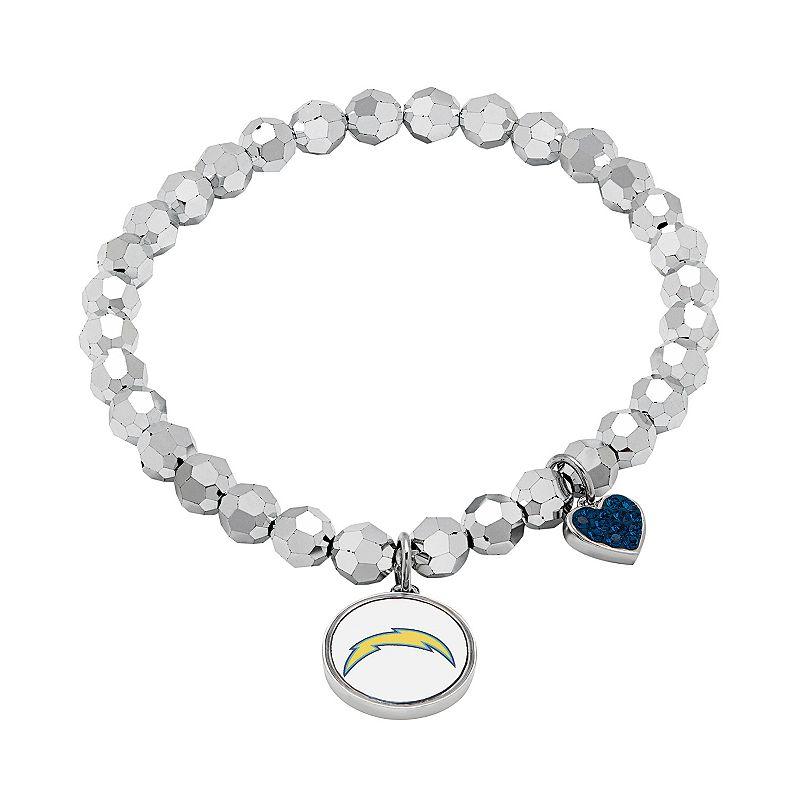 San Diego Chargers Bead Stretch Bracelet