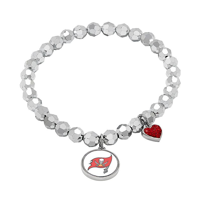 Tampa Bay Buccaneers Bead Stretch Bracelet
