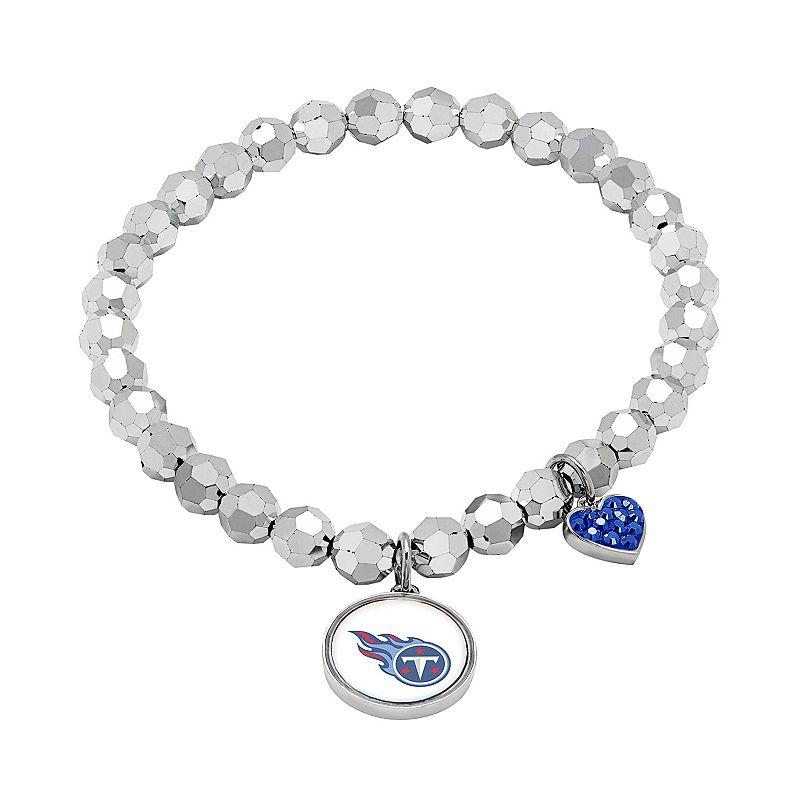 Tennessee Titans Bead Stretch Bracelet