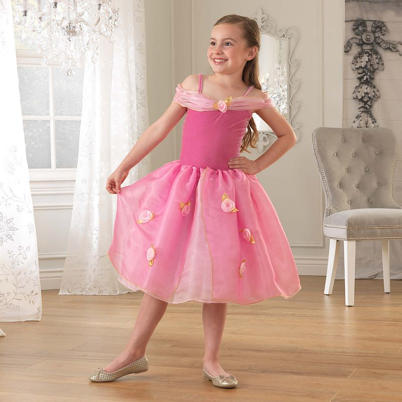 KidKraft Pink Rose Princess Dress-Up Costume
