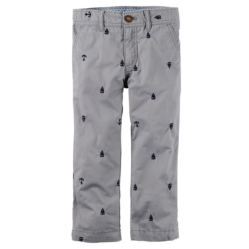 Toddler Boy Carter's Sailboat Pants