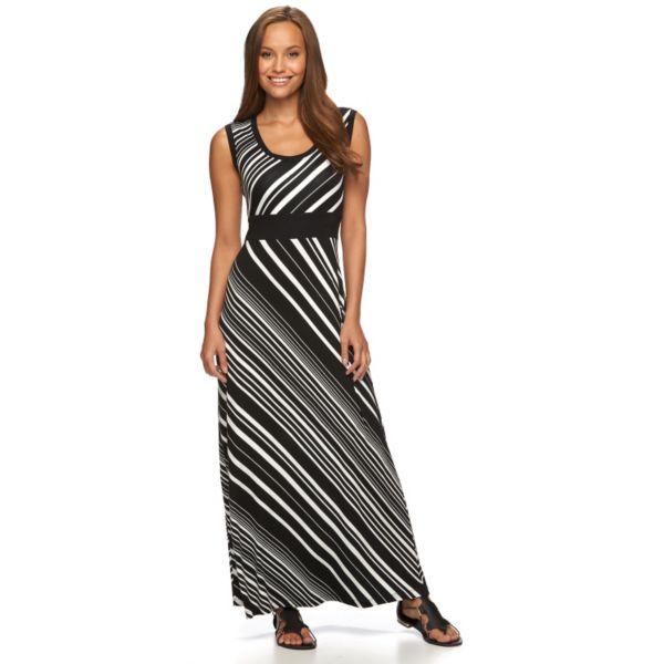 Petite Apt. 9® Striped Maxi Dress