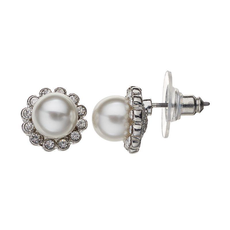 LC Lauren Conrad Halo Stud Earrings