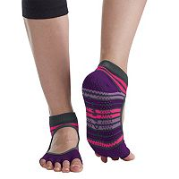 Gaiam Mary Jane Yoga Grip Socks (Small / Medium)