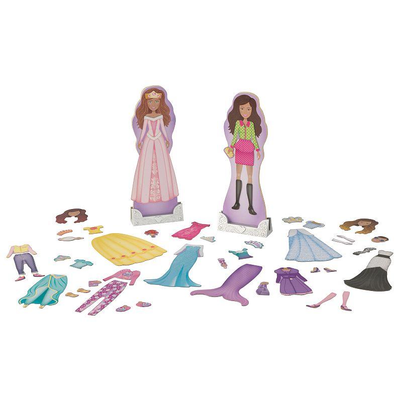 KidKraft Trends & Fairytale Magnetic Dolls