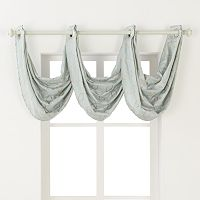 Regent Court Gramercy Faux Silk Waterfall Valance - 24'' x 24''