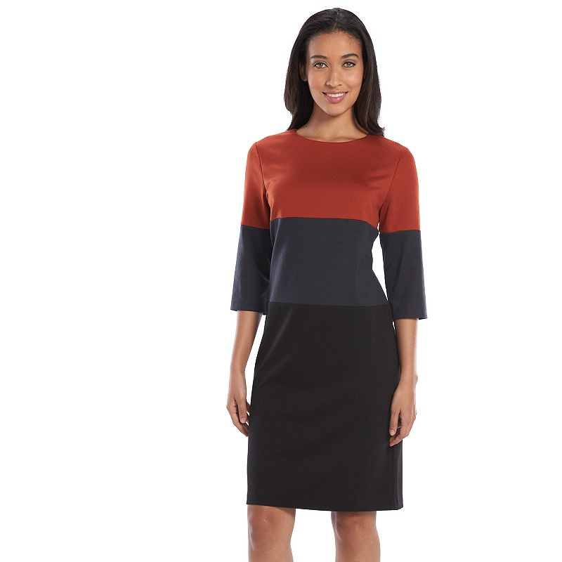 Ronni Nicole Colorblock Sweaterdress - Women's