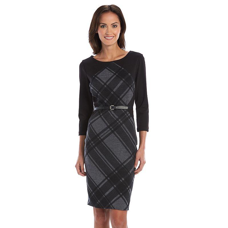 Chaya Plaid Sweaterdress - Women's