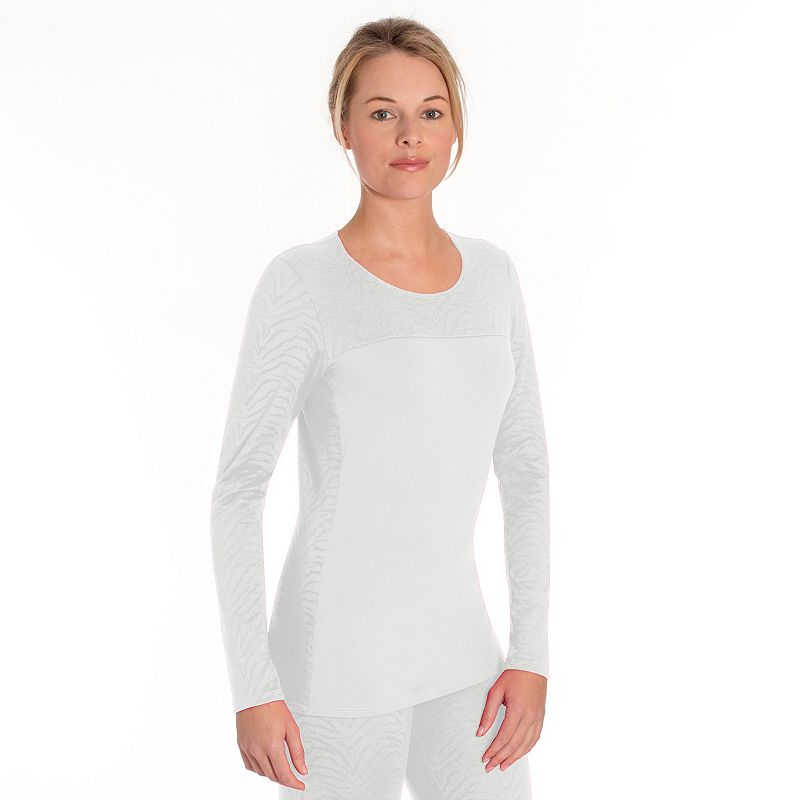 Women's Snow Angel Luxe Lace Scoopneck Base Layer Top