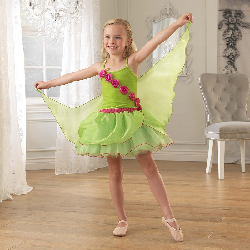 KidKraft Green Winged Fairy Dress-Up Costume