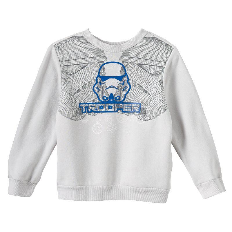 Star Wars White Stormtrooper Tee - Boys 4-7