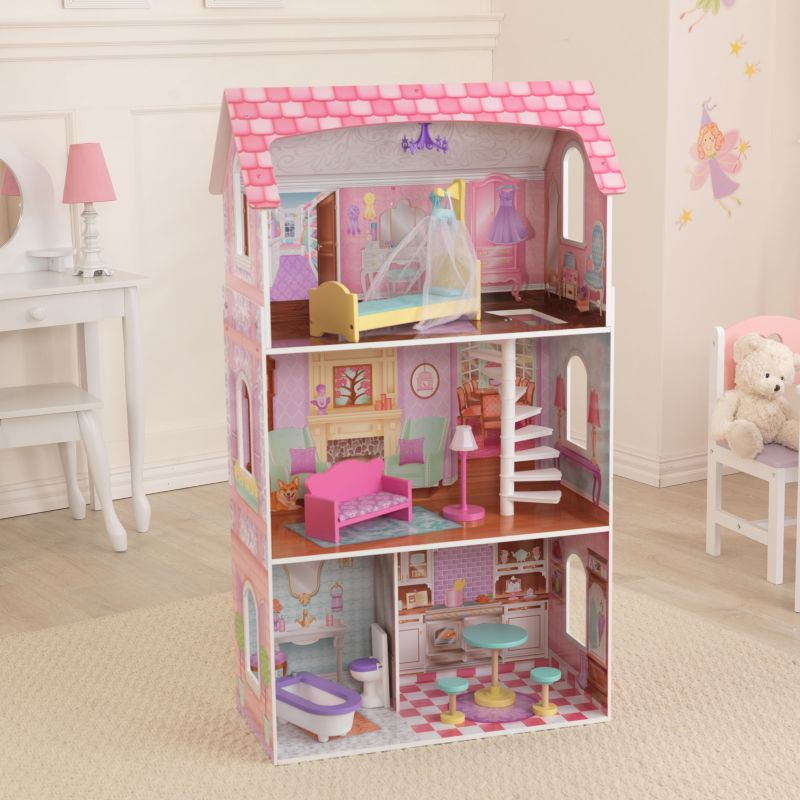 KidKraft Penelope Dollhouse, Multicolor