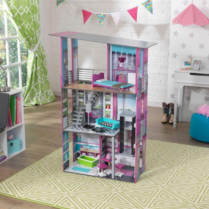 KidKraft Glamorous Dollhouse, Multicolor