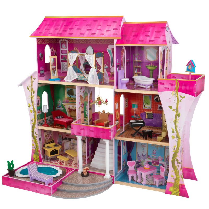 KidKraft Once Upon a Time Dollhouse, Multicolor