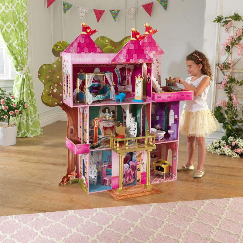 KidKraft Storybook Mansion Dollhouse, Multicolor
