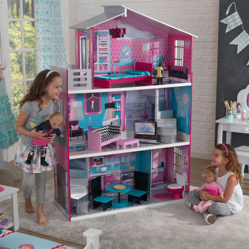 KidKraft 18-in. Breanna Dollhouse, Multicolor