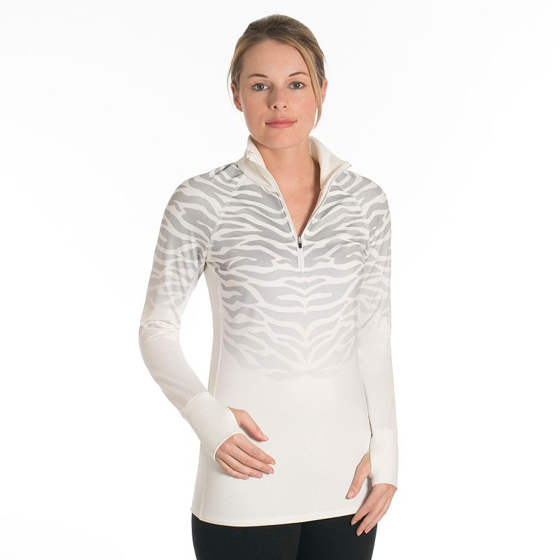 Women's Snow Angel Catniss Fleece Quarter-Zip Top