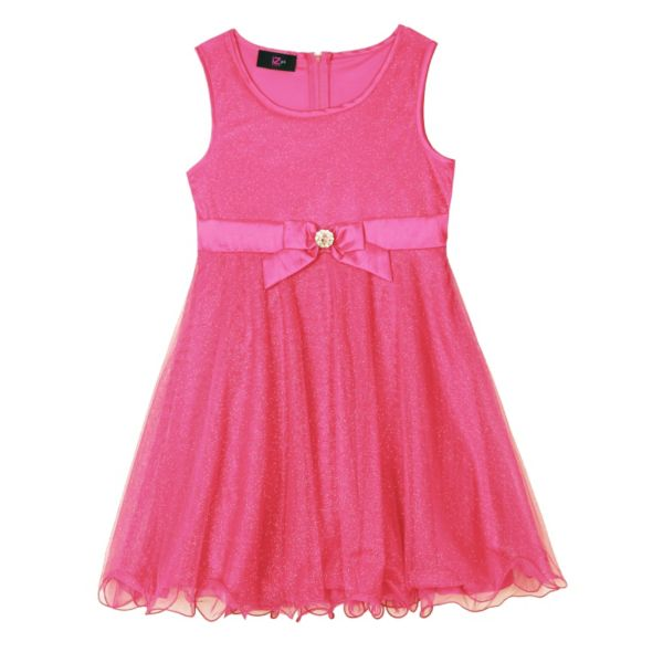 Girls 7-16 IZ Amy Byer Glitter Mesh Dress