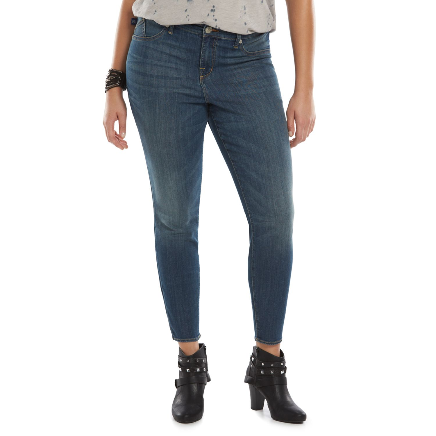 Plus Size Rock & Republic? High-Waist Jeggings