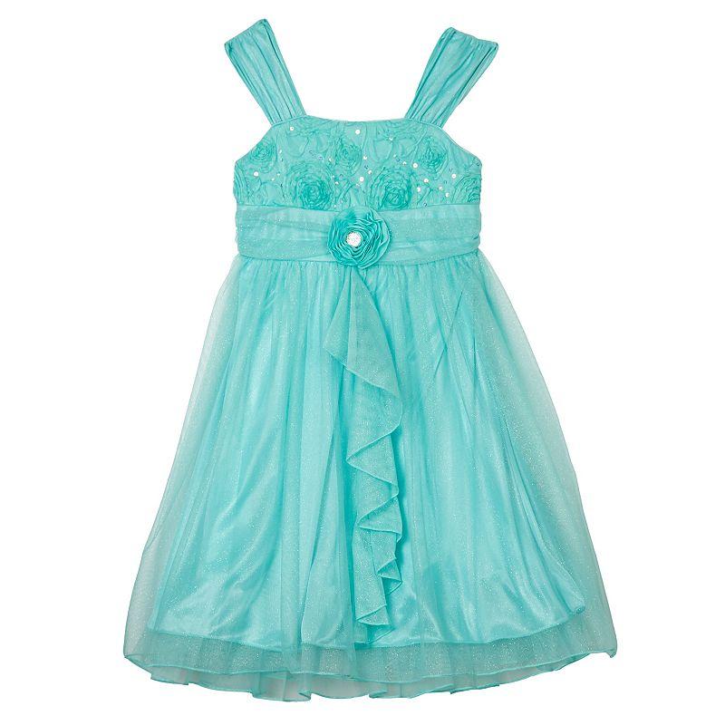 Girls 7-16 IZ Amy Byer Sequin Mesh Dress